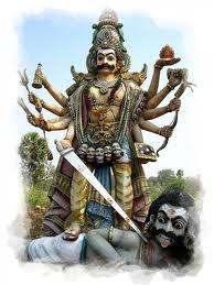 village gods of tamil nadu  shiva warrior pose yoga