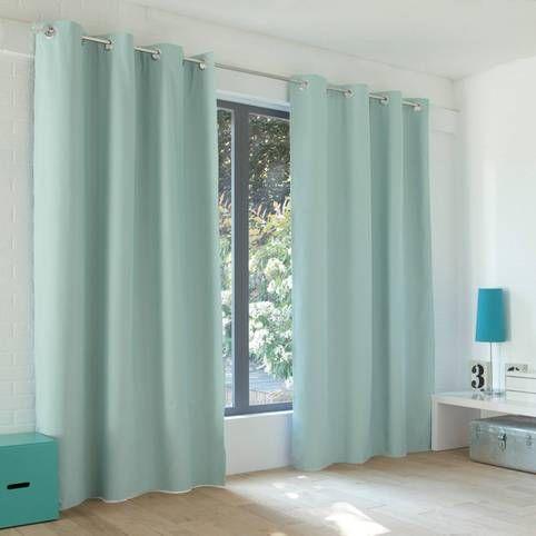 rideaux occultants aqua 3 suisses rideaux rideaux. Black Bedroom Furniture Sets. Home Design Ideas