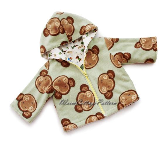 0edea80ef7fd Baby jacket pattern sewing