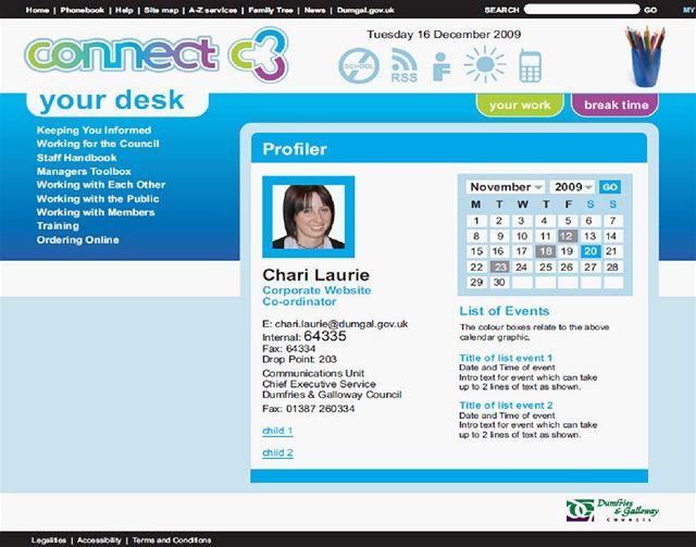 intranet website examples
