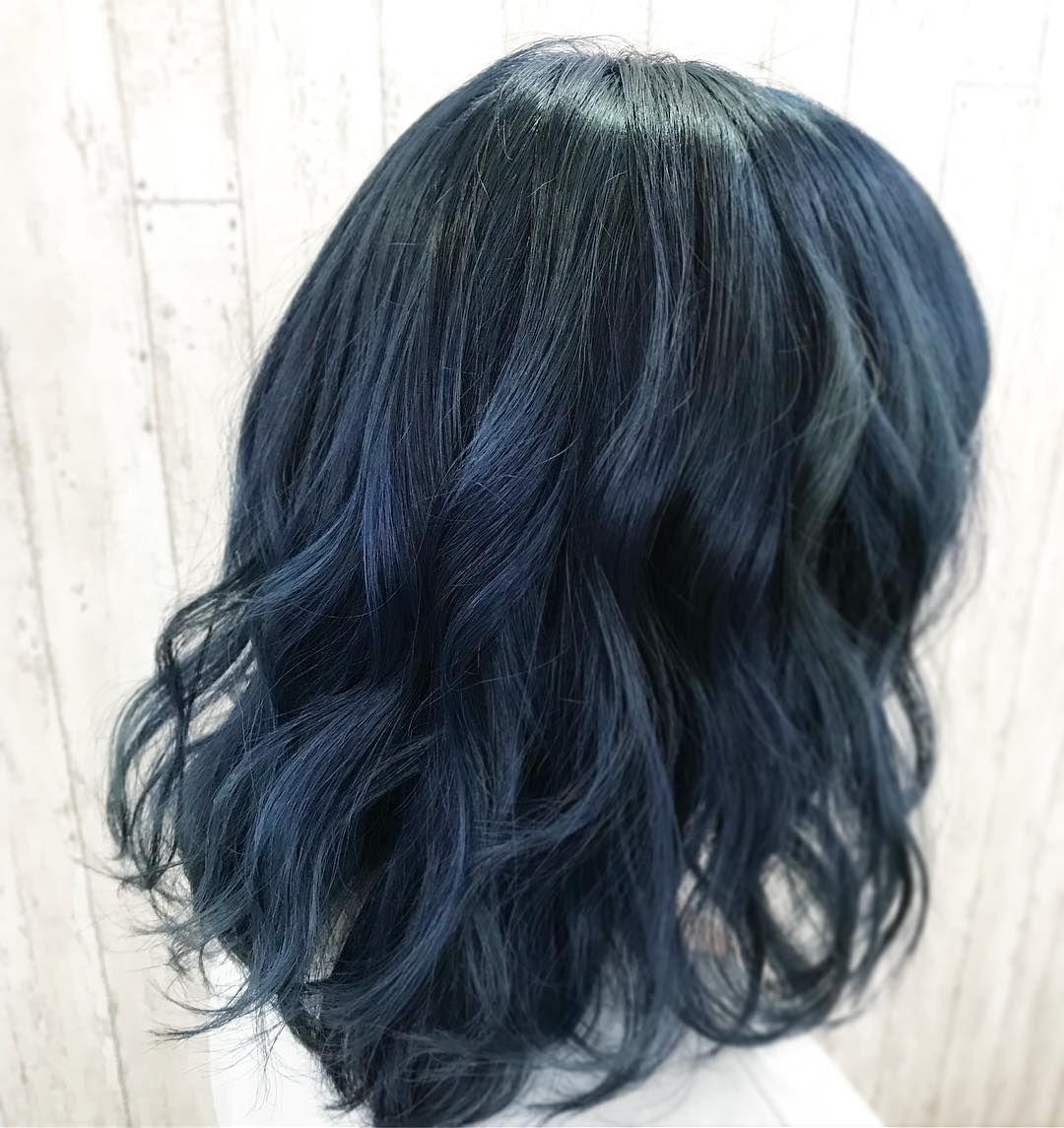 ダブルカラーで ブルーの色に いつもありがとうございます Iria 池袋