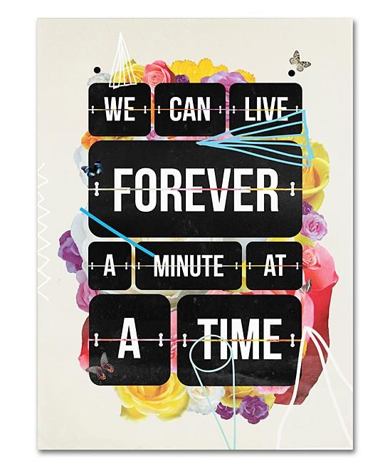 Time of Your Life Matted Wall Art Home Decor #zulilyfinds