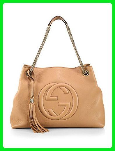 9f85f62604e Gucci Camelia Camel Pebbled Leather Soho Shoulder Hand Bag Tassel - Shoulder  bags ( Amazon Partner-Link)