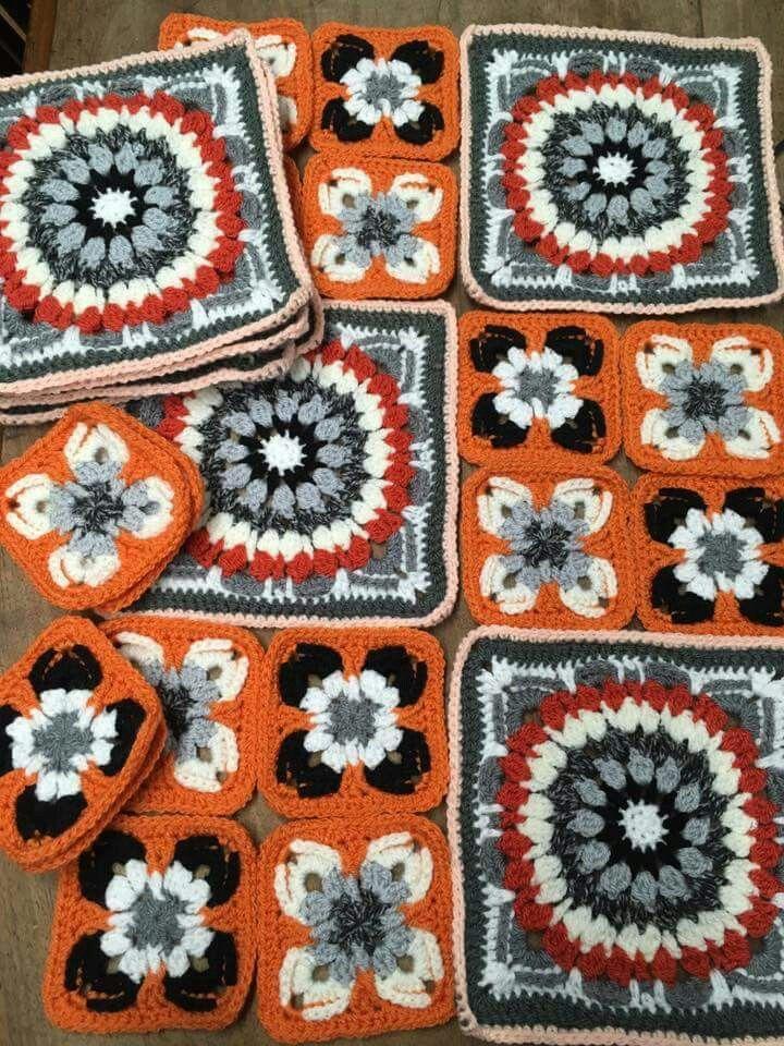 Colorful Pinterest Afghanisch Häkelanleitungen Ideas - Decke ...