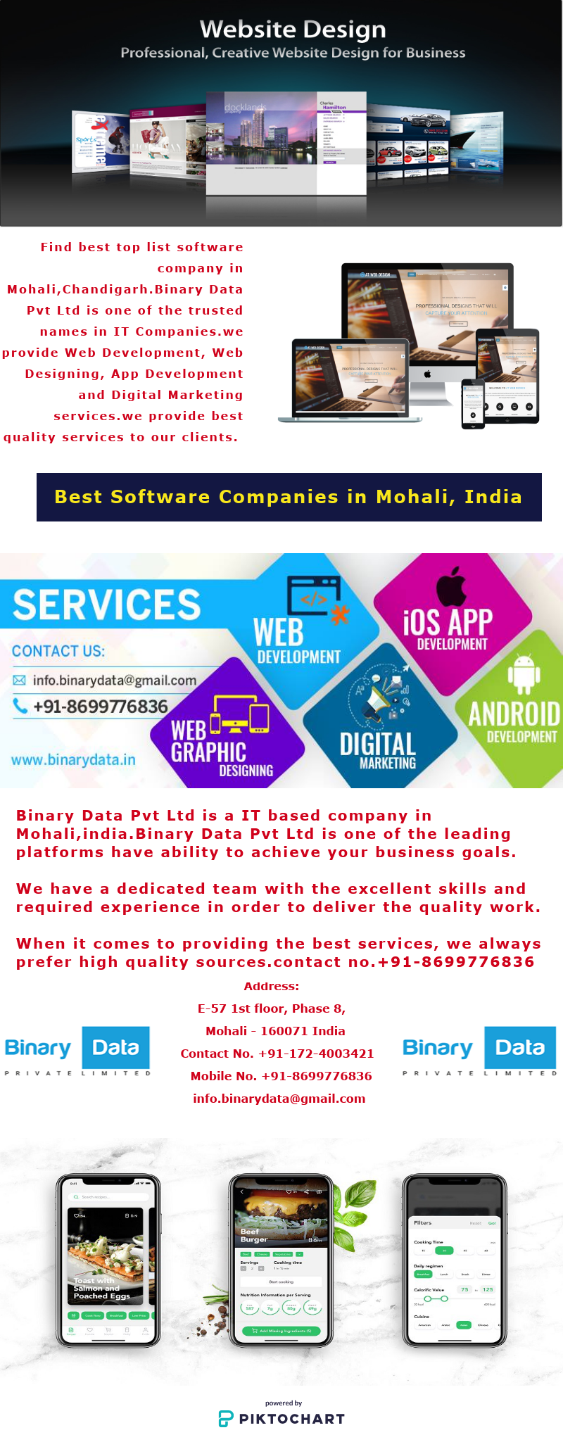 Find best top list software company in Mohali,Chandigarh