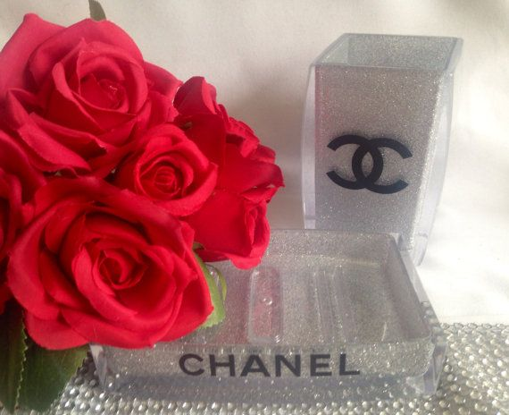 GroBartig Chanel Inspiriert Badezimmer Set Chanel Vanity Set Von Joyeriauk