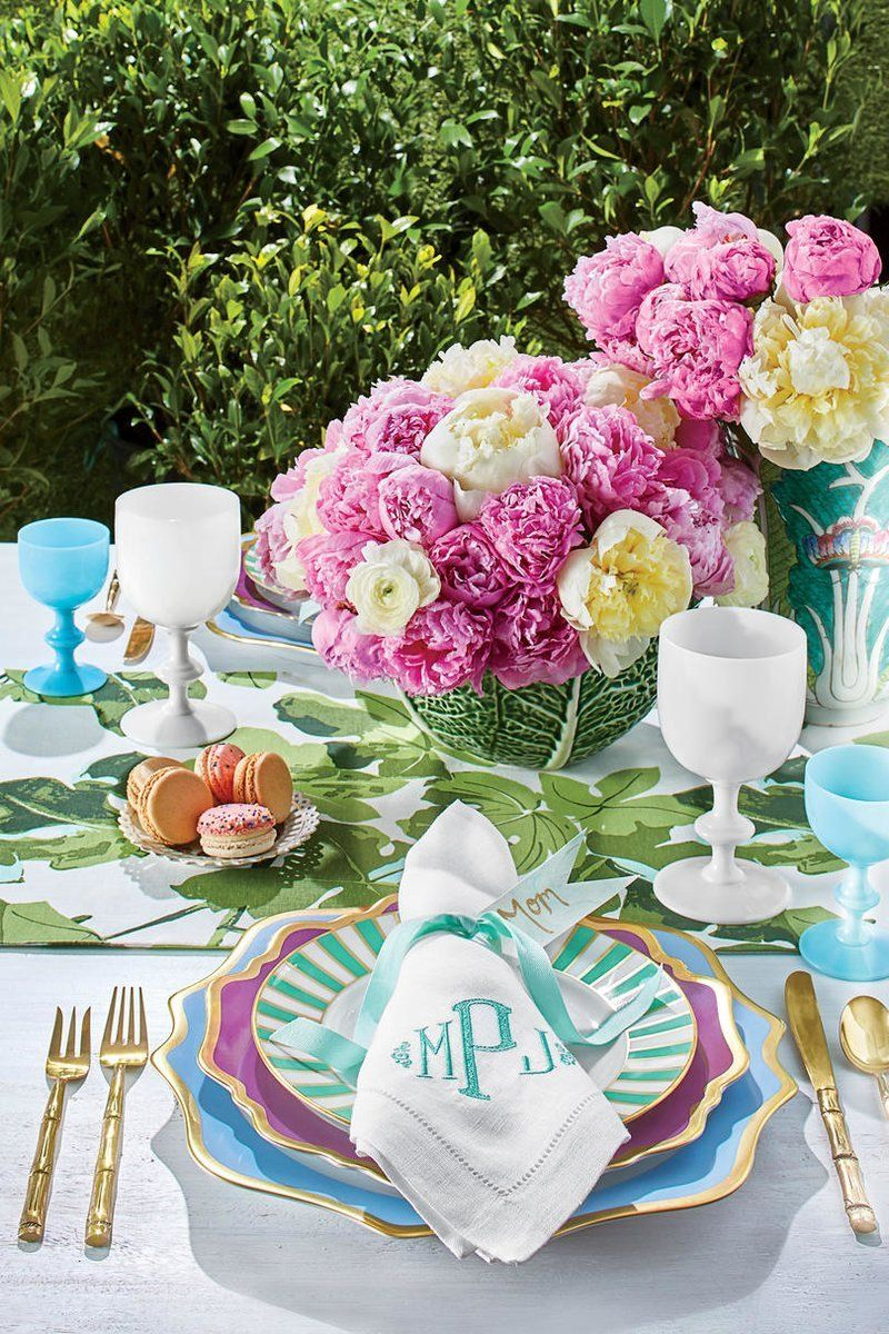 Secrets To Setting A Pretty Table For Every Spring Party Easter