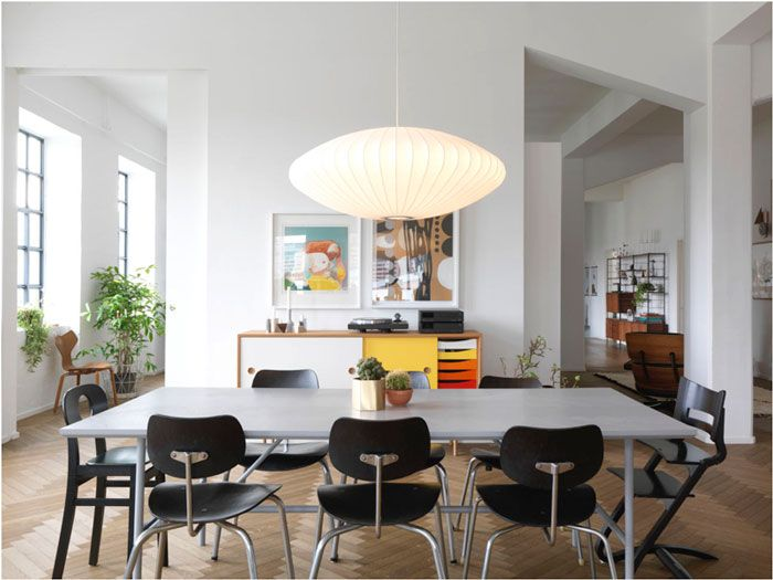 The Home of Trine Andersen of Ferm LIVING - NordicDesign To home