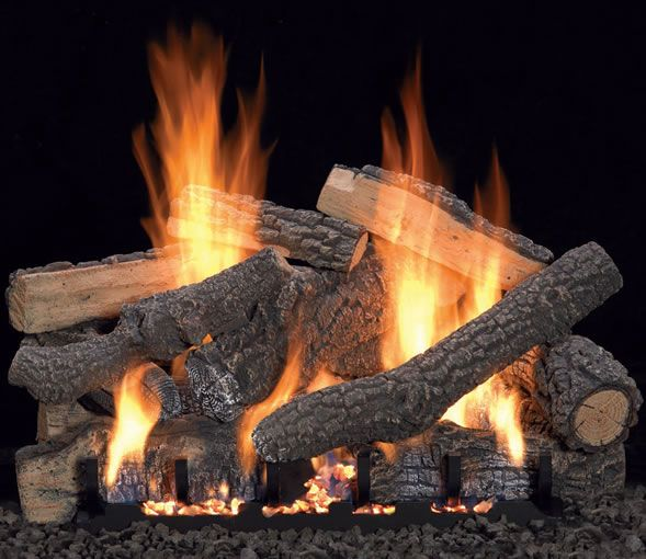 White Mountain Ponderosa 24 Vent Free Log With Variable Remote