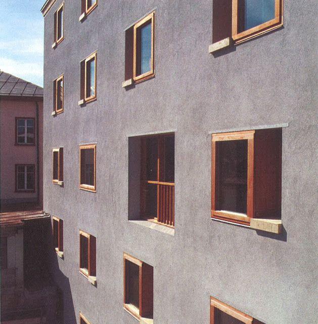 Discovering Gion A. Caminada´s work > Girls Boarding School, Disentis, Switzerland   HIC Arquitectura