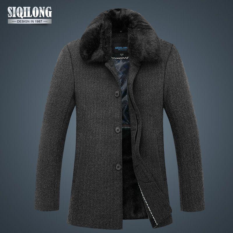 2013 New Stylish Mens Parka Winter Outdoors Jackets Windcheater ...