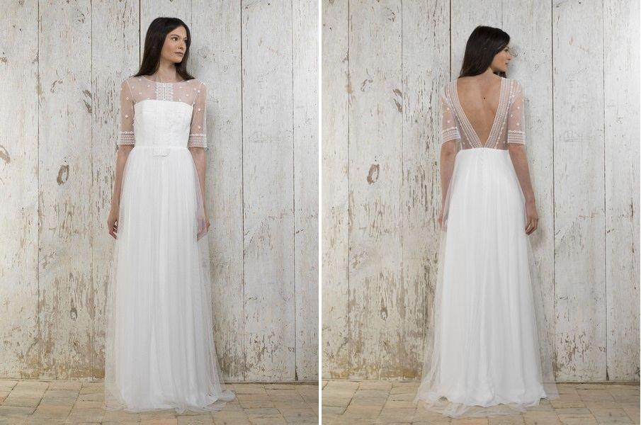 Das Brautkleid Rachel von Lambert Creations passt herrlich zu Boho ...