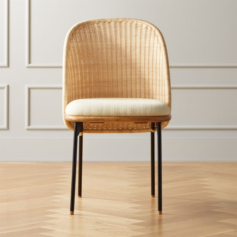 Chord Woven Back Dining Chair Reviews In 2020 Dining Chairs Dining Room Furniture Modern Leather Dining Chairs