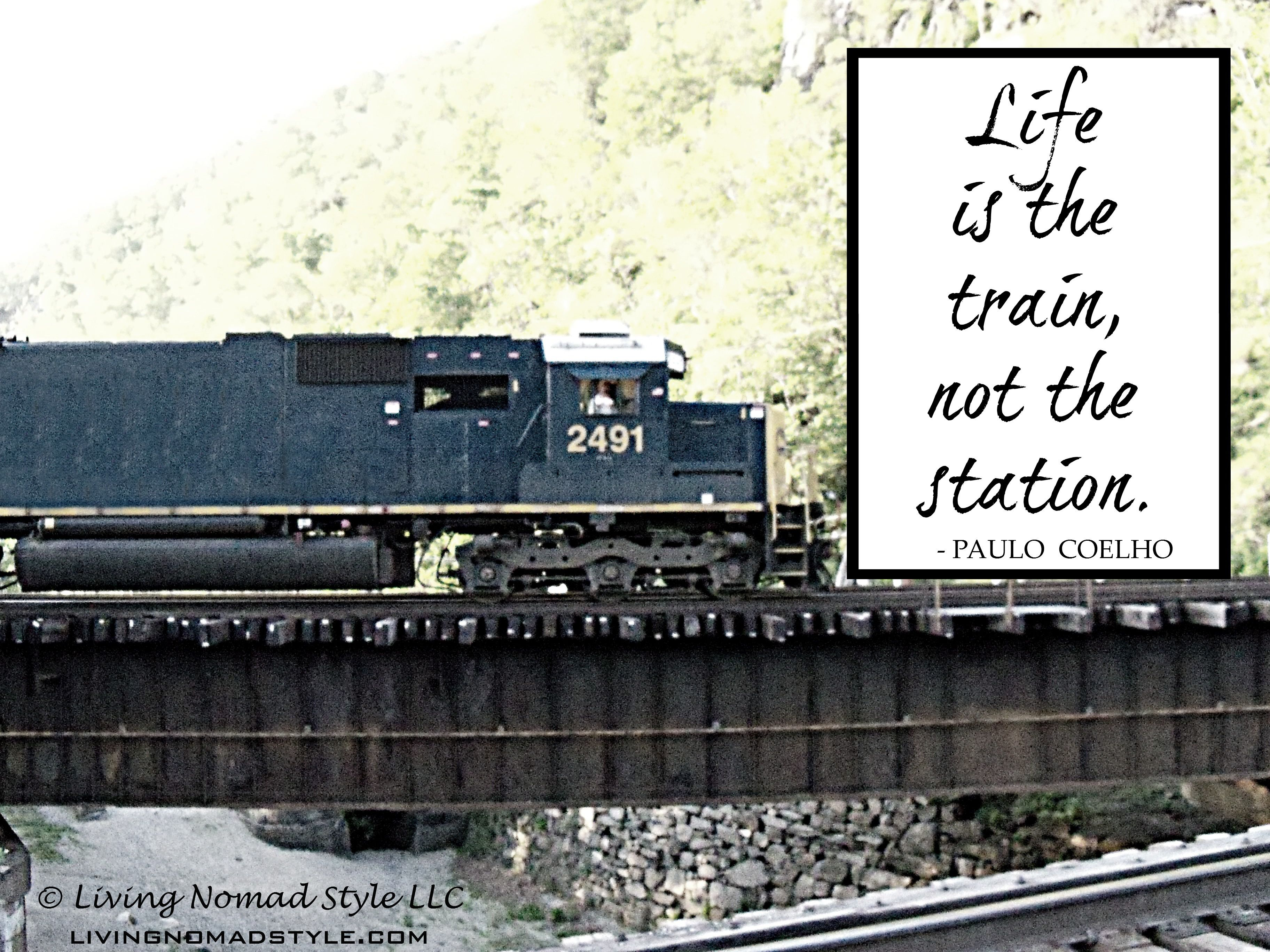 Train Journey With Friends Quotes Art Gallery