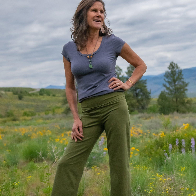 Hemp salamba pant organic yoga pants pants for women