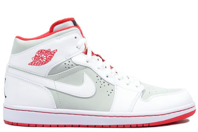 info for 01131 89917 Air Jordan 1 Premier Hare White Red Grey