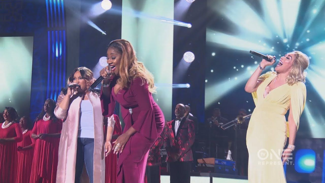 Tasha Page-Lockhart, Le'Andria Johnson & Keke Wyatt Tribute to