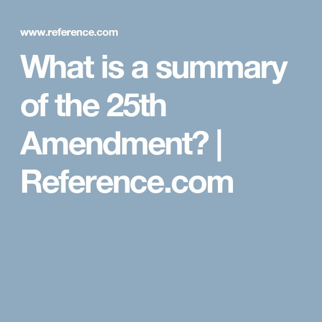 What Is A Summary Of The 25th Amendment With Images Ketogenic Ketogenic Diet Diet