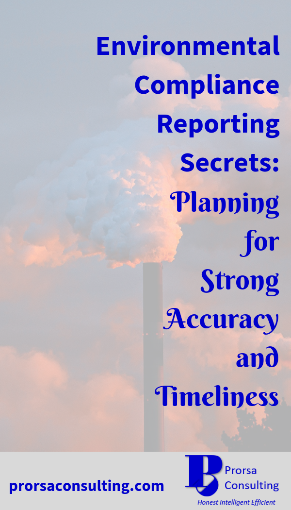 Environmental Compliance Reporting Secrets Planning for