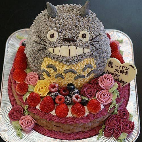 Totoro's big cake