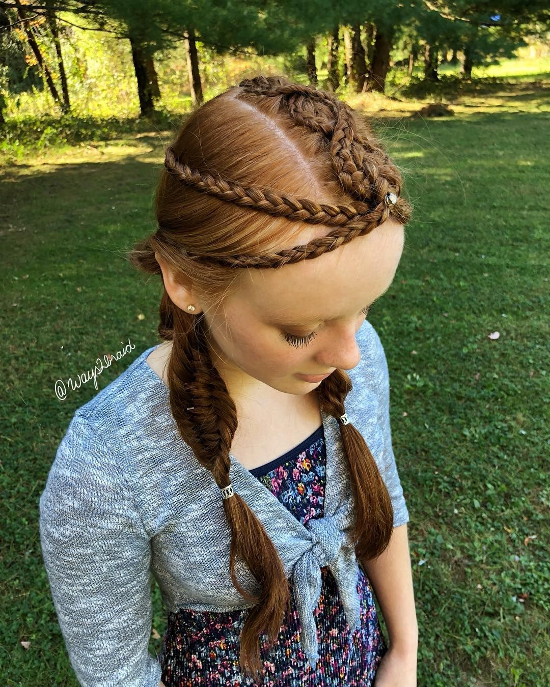 Abby S Hairstyles On Instagram You Miss 100 Of The Shots You Don T Take Warrior Princess Style Kind Hair Styles Princess Style Warrior Princess
