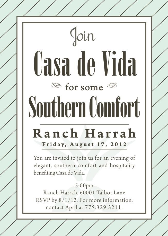 Casa De Vida Invite Design Mark Your Calendar You Are Invited Invitations Marks