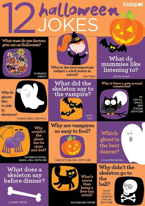 14+ Funny Kids Jokes Halloween in 2020 Halloween jokes