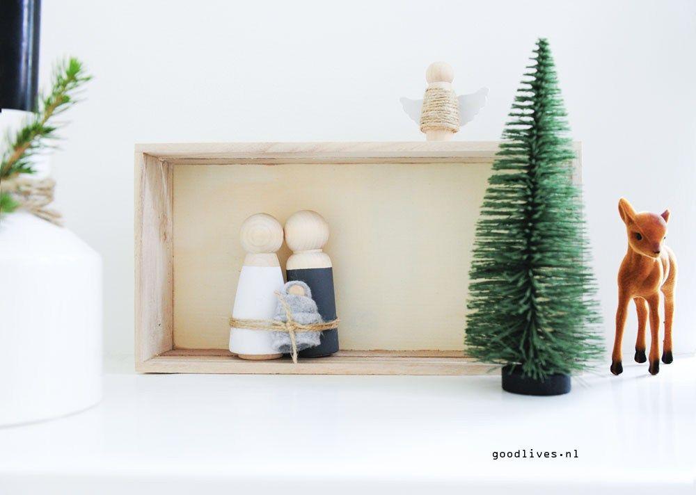 8x Diy Kerstdecoratie : Diy kerststal voor goodlives interior noel