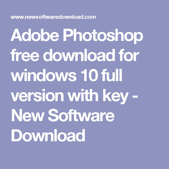 photoshop free download for windows 10 32 bit