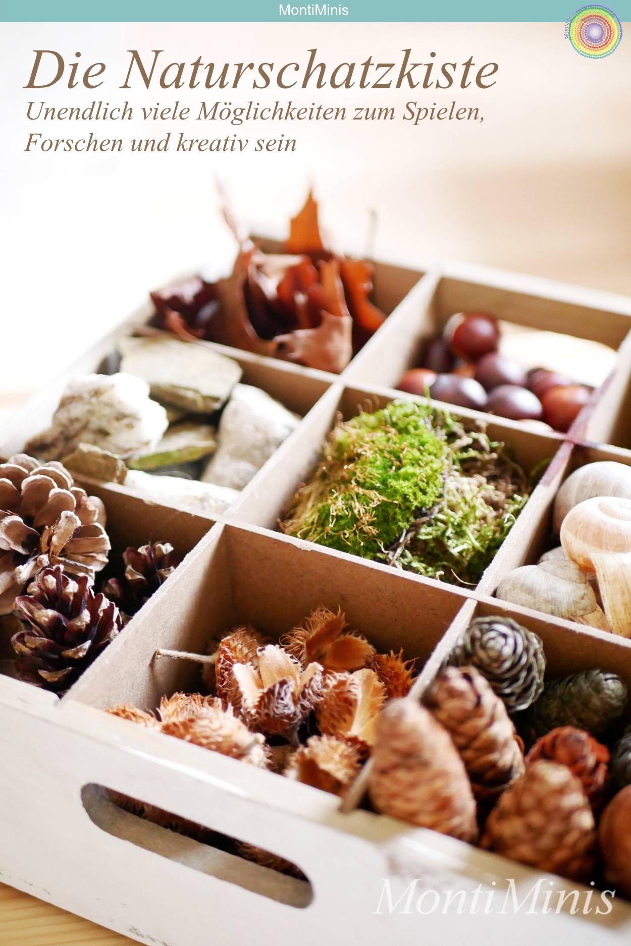 Photo of Basteln mit Naturmaterialien: Eine Kiste voll mit Naturschätzen