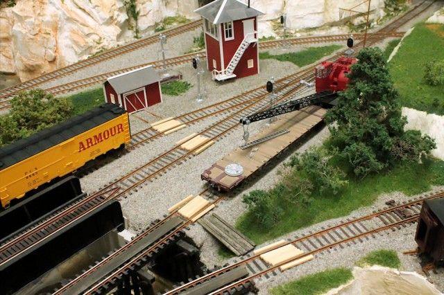 Detailing a Model Railroad Yard Scene | Gateway NMRA