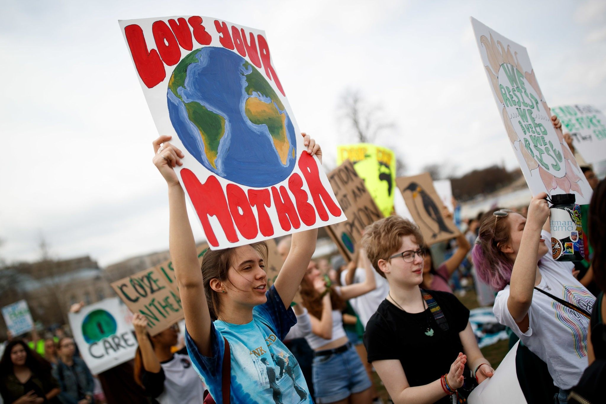 Pictures From Youth Climate Strikes Around The World The New York Times Climate Change New Zealand Image Climates