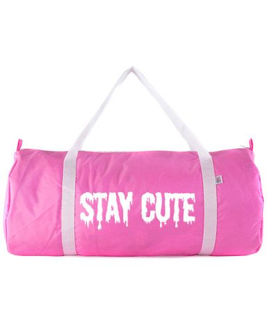 STAY CUTE GYM BAG at Shop Jeen - SHOP JEEN