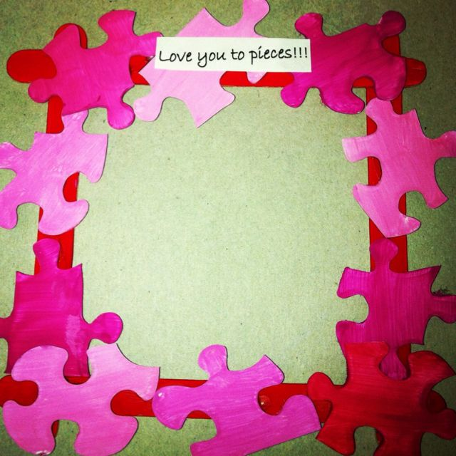 Autism Valentine S Day Art Project Just Add A Pic Arts