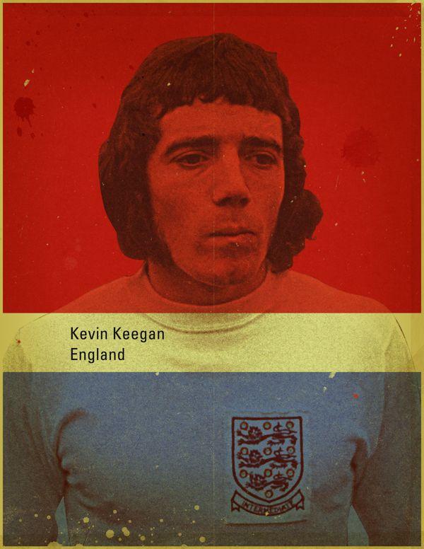 Famous Footballers 4 by Jon Rogers, via Behance