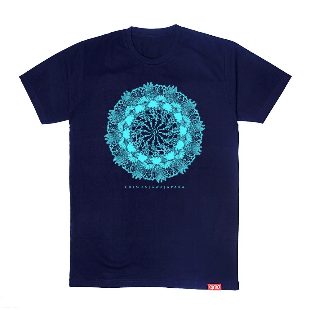 Kaos Crimon Mandala Terdapat Beberapa Penggabungan Gambar Ikon Tentang Keindahan Caribbean Van Java Julukan Lain Karimun Jawa Desain Mandala Kaos Caribbean