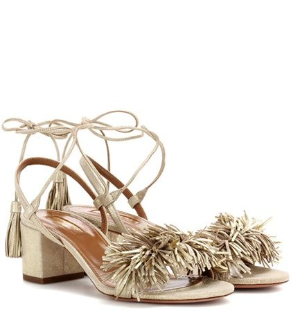 Sandals WILD THING with Suede Details Spring/summerAquazzura I4VnUiHg