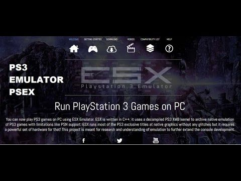 ps3 emulator pc games download