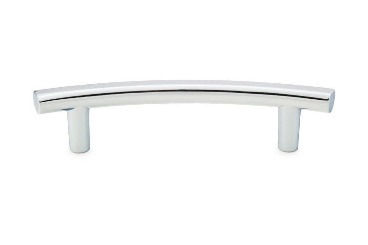 Emtek 86416 3-1/2 Inch Center to Center T-Curve Series Cabinet Bar Pull from the Polished Chrome Cabinet Hardware Pulls Bar