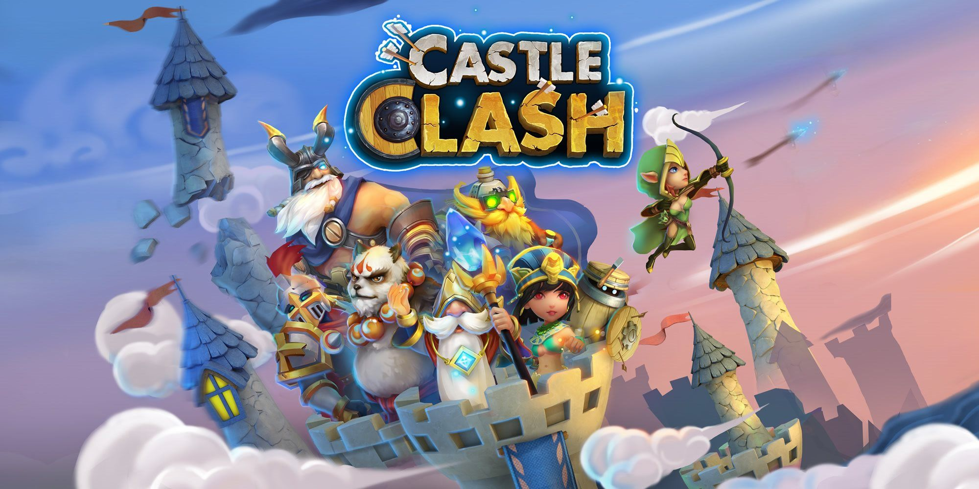 cara hack game castle clash apk