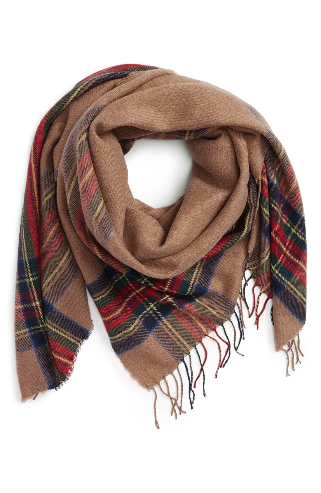 Heritage Plaid Square Scarf | Nordstrom, Scarfs and Plaid