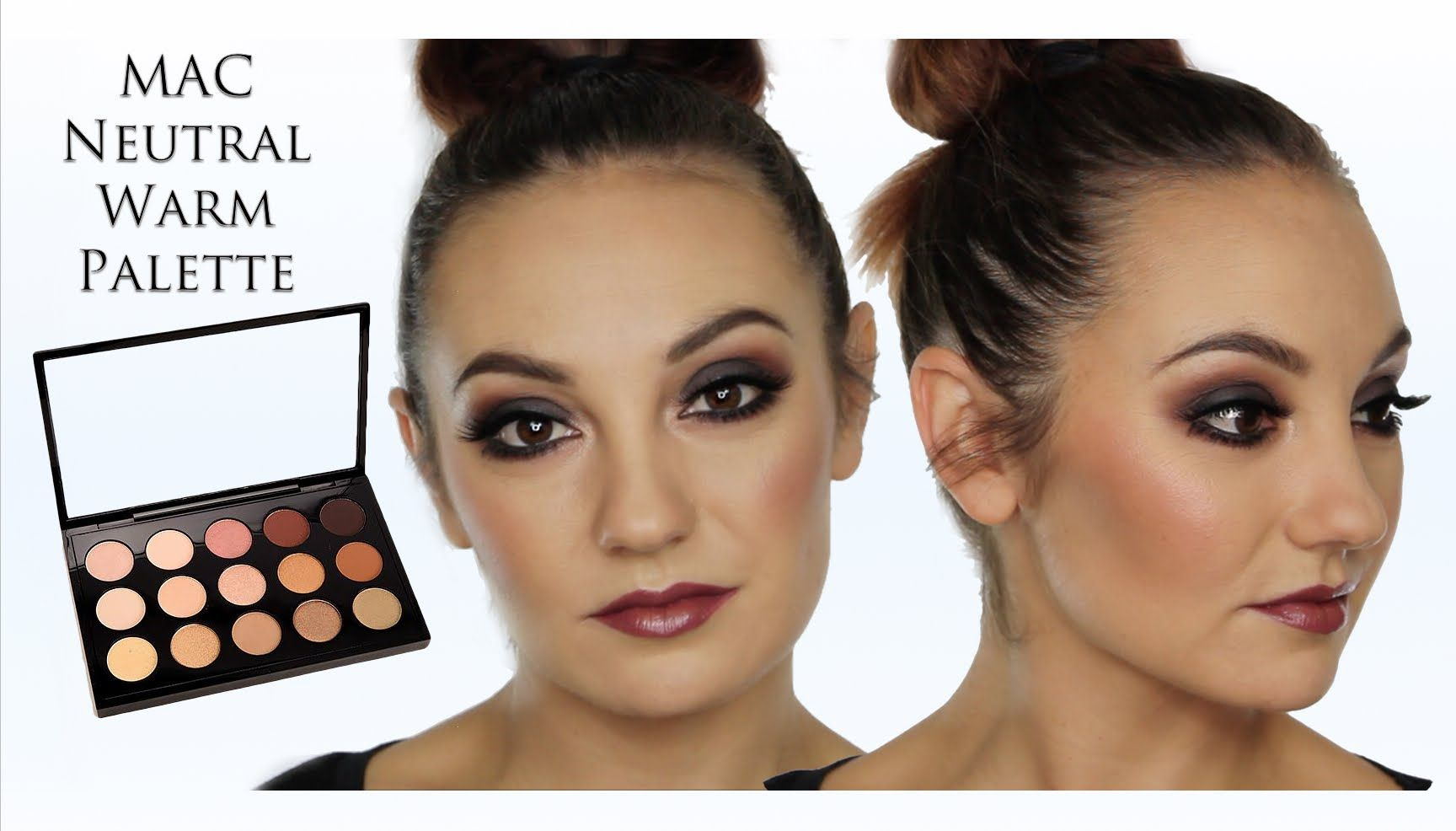 Autumnal / Fall MakeUp Tutorial Using MAC Neutral Warm ...