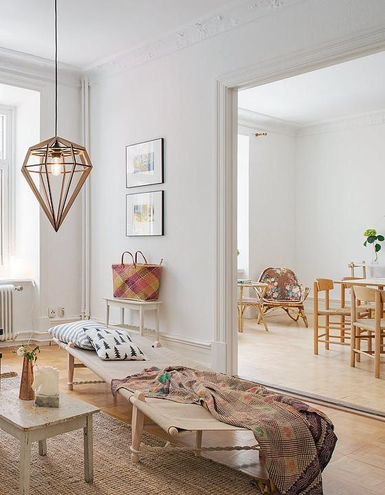 Comment Donner Un Look Scandinave A Votre Salon Salon Maison Idees De Design D Interieur Idee Chambre
