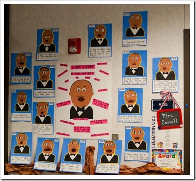 Brainstorm MLK Jr qualities in the middle, students create their ...