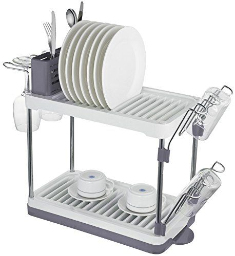 Amazon Drying Rack Surpahs 2Tier Compact Dish Drying Rack Gray Color Surpahs Https