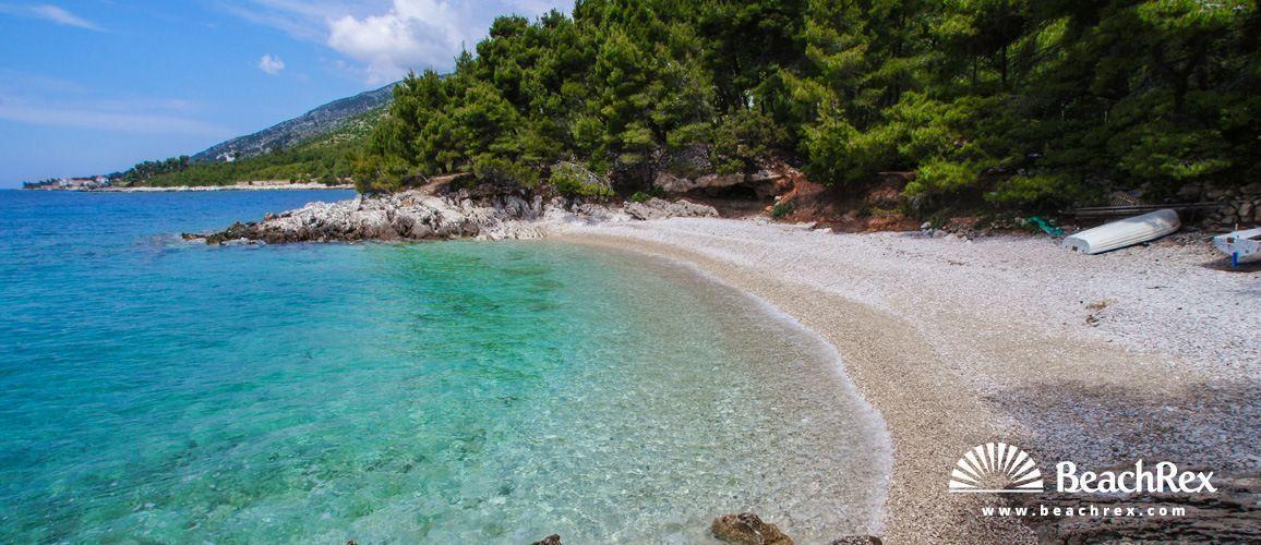 Beach Žutica - Zavala - Island Hvar - Dalmatia - Split - Croatia