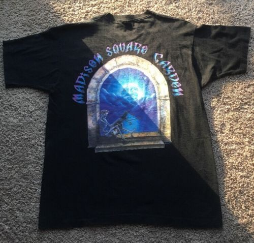 Vintage 90s Grateful Dead T Shirt Madison Square Garden Jerry Garcia MINT XL