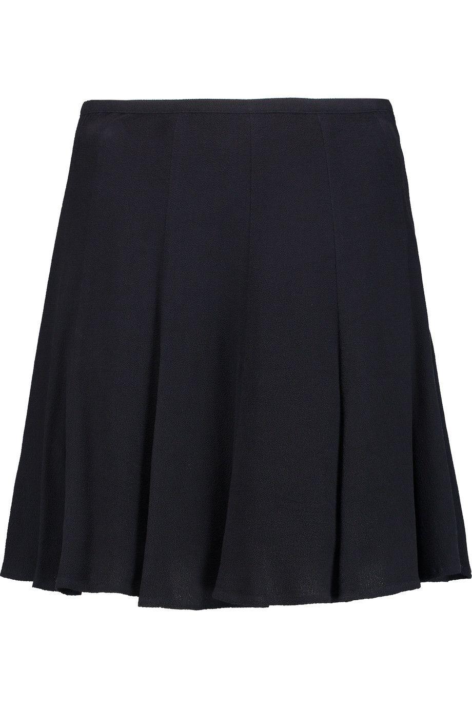 MICHAEL MICHAEL KORS Crepe mini skirt. #michaelmichaelkors #cloth #skirt