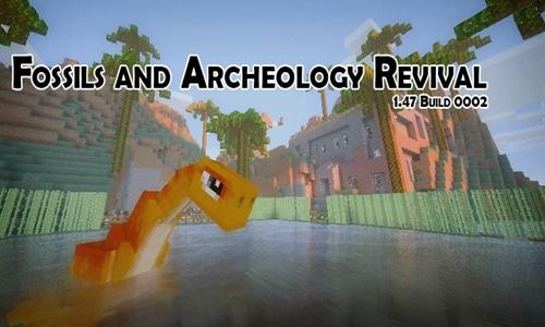 Minecraft 1.5.2 – Fossil and Archeology Revival (1.5.2 Build 0005)