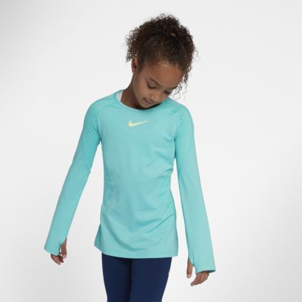 51c6d5490 Pro Warm Older Kids' (Girls') Long-Sleeve Training Top | Christmas ...